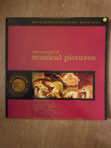The Medallion Concert Band  ‎– The Sound Of Musical Picturess - Vinyl LP Record - Opened  - Very-Good Quality (VG)