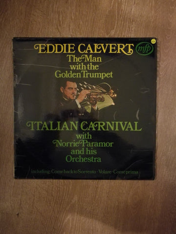 Eddie Calvert - Italian Carnival with Norrie Paramor - Vinyl LP Record - Opened  - Very-Good+ Quality (VG+)