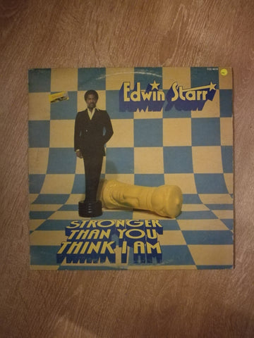 Edwin Starr - Stronger Than You Think I Am - Vinyl LP Opened - Near Mint Condition (NM) - C-Plan Audio