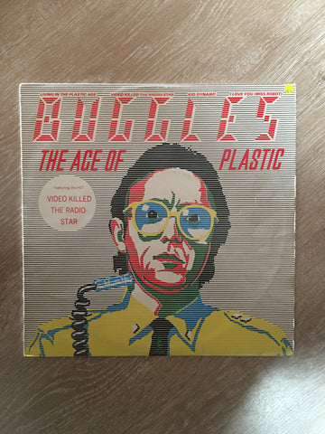 Buggles - The Age Of Plastic - Vinyl LP Record - Opened  - Very-Good+ Quality (VG+)