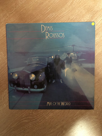 Demis Roussos - Man Of The World - Vinyl LP Record - Opened  - Very-Good+ Quality (VG+)