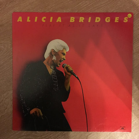 Alicia Bridges - Play it as it Lays - Vinyl LP Record - Opened  - Very-Good+ Quality (VG+)