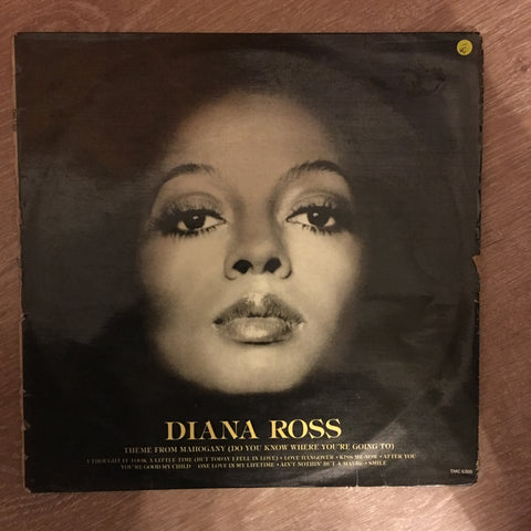 Diana Ross - Diana Ross -  Vinyl LP Record - Opened  - Very-Good- Quality (VG-)