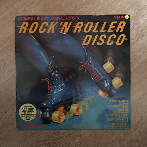 Rock 'n Roller Disco - 20 Smash Hits - Original Artists - Vinyl LP Record - Opened  - Very-Good Quality (VG)