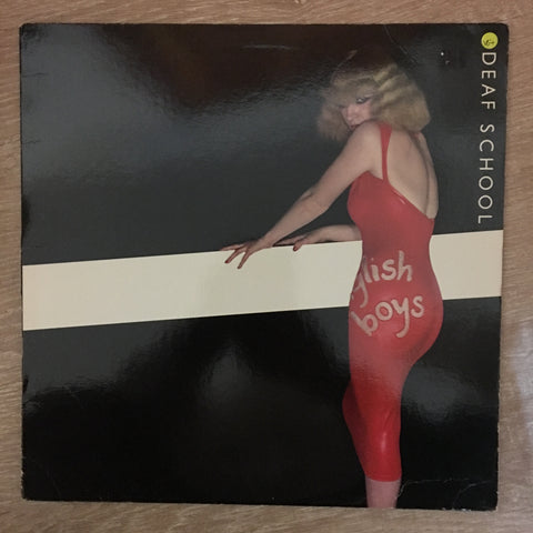 Deaf School ‎– English Boys/Working Girls ‎-  Vinyl Record - Opened  - Very-Good+ Quality (VG+) - C-Plan Audio