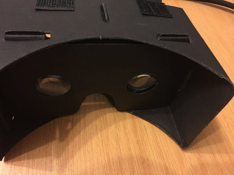 VR Virtual Reality 3D Headset Black (Full Kit) - Very High quality lenses
