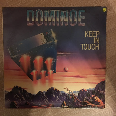 Dominoe - Keep In Touch -  Vinyl LP Record - Opened  - Very-Good+ Quality (VG+)
