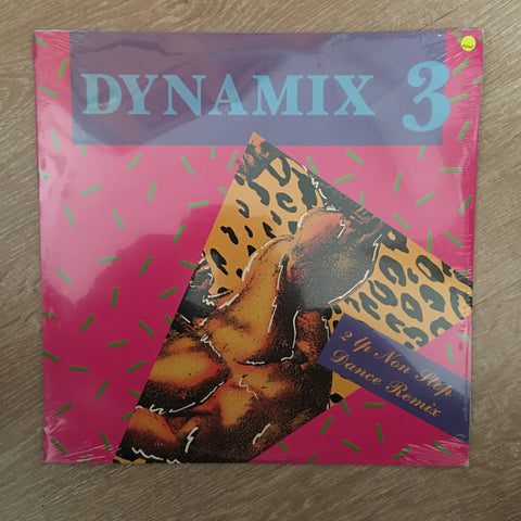 Dynamix 3 Remixes  - Double Vinyl LP - Sealed - C-Plan Audio