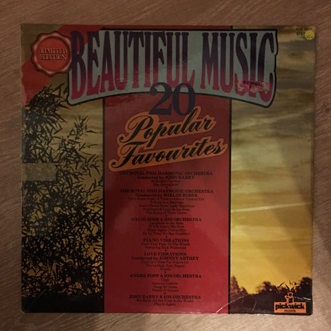 Beautiful Music - Limited Edition - 20 Popular (Classical) Favourites  - Vinyl LP Record - Opened  - Very-Good+ Quality (VG+)