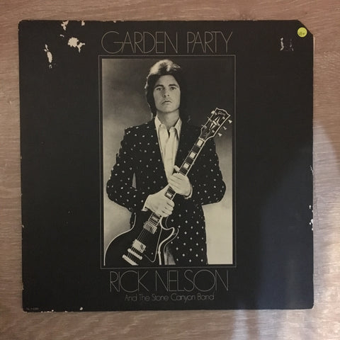 Rick Nelson And The Stone Canyon Band ‎– Garden Party - Vinyl LP Record - Opened  - Very-Good+ Quality (VG+) - C-Plan Audio
