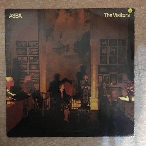 Abba - The Visitors - Vinyl LP Record - Opened  - Very-Good Quality (VG)