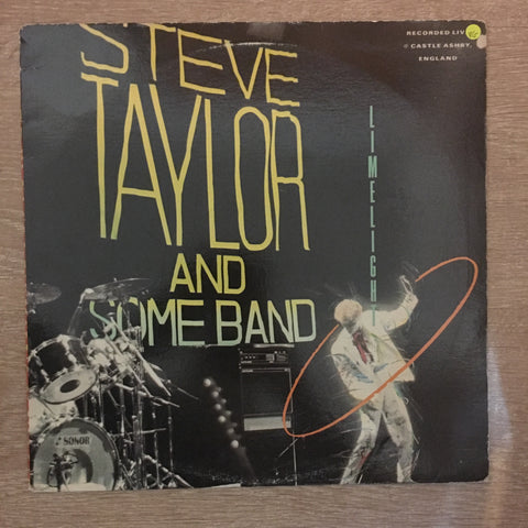 Steve Taylor & Some Other Band - Vinyl LP{ Record - Opened  - Very-Good+ Quality (VG+)