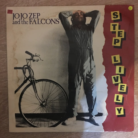 Jo Jo Zep And The Falcons ‎– Step Lively - Vinyl LP Record - Opened  - Very-Good- Quality (VG-)