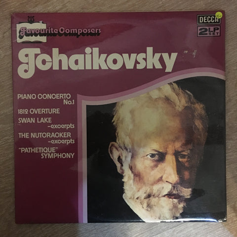 Tchaikovsky - Favourite Conmposer Series - Double Vinyl LP Record - Opened  - Very-Good+ Quality (VG+) - C-Plan Audio