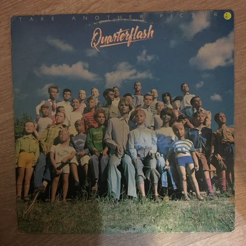 Quarterflash ‎– Take Another Picture - Vinyl LP Record - Opened  - Very-Good Quality (VG) - C-Plan Audio