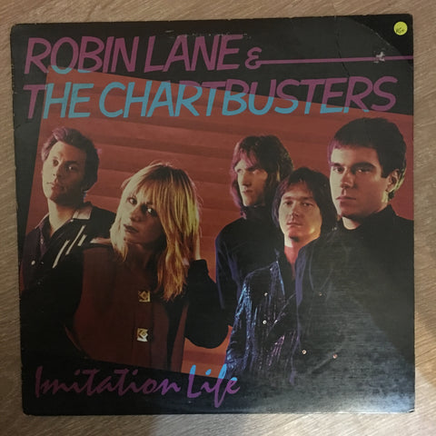 Robin Lane & The Chartbusters ‎– Imitation Life - Vinyl LP Record - Opened  - Very-Good+ Quality (VG+) - C-Plan Audio