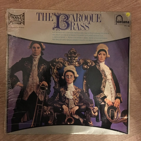 The Baroque Brass ‎– The Baroque Brass -  Vinyl LP Record - Opened  - Very-Good Quality (VG)