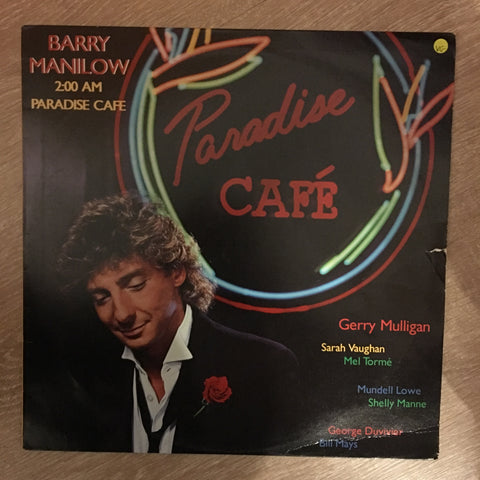 Barry Manilow - 2:00 AM Paradise Cafe -  Vinyl LP Record - Opened  - Very-Good Quality (VG)