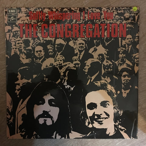 The Congregation ‎– Softly Whispering I Love You -  Vinyl LP Record - Opened  - Very-Good+ Quality (VG+) - C-Plan Audio
