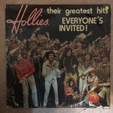Hollies - Their Greatest Hits -Everyone's Invited - Vinyl LP Record - Opened  - Fair Quality (F) - C-Plan Audio