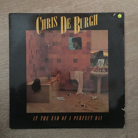 Chris De Burgh - At The End of a Perfect Day - Vinyl LP Record - Opened  - Very-Good Quality (VG)