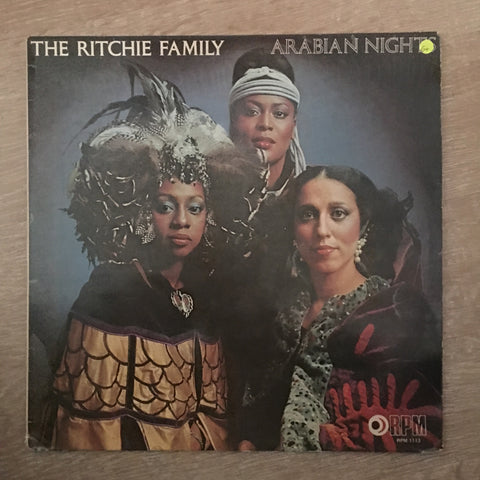 The Ritchie Family - Arabian Nights - Vinyl LP Record - Opened  - Good+ Quality (G+) - C-Plan Audio