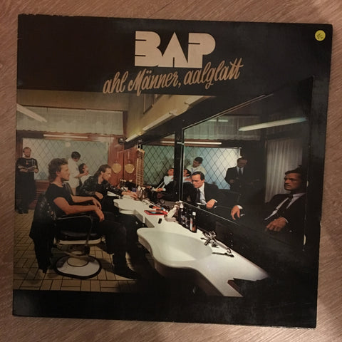 BAP ‎– Ahl Männer, Aalglatt - Vinyl LP - Opened  - Very-Good+ Quality (VG+)
