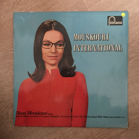 Nana Mouskouri ‎– Mouskouri International - Vinyl LP Record - Opened  - Very-Good+ Quality (VG+)