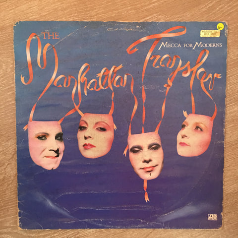Manhattan Transfer ‎– Mecca For Moderns  - Vinyl LP Record - Opened  - Good+ Quality (G+)