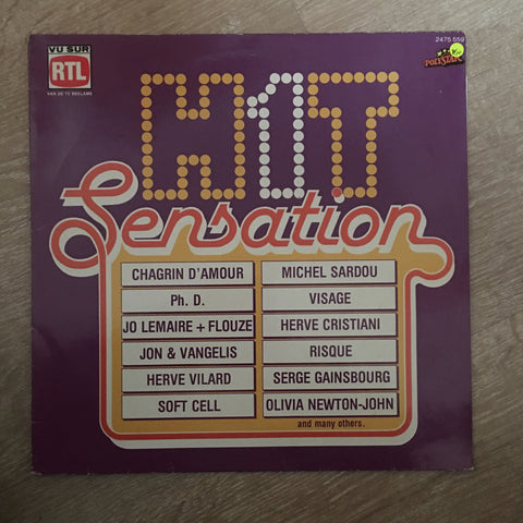 Hit Sensation - Vinyl LP Record - Opened  - Very-Good+ Quality (VG+)