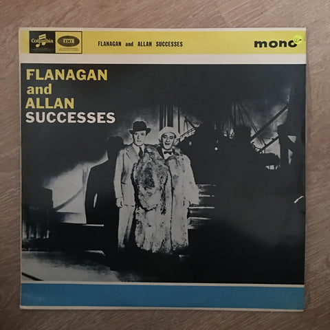 Flanagan And Allen ‎– Successes - Vinyl LP Record - Opened  - Very-Good- Quality (VG-) - C-Plan Audio
