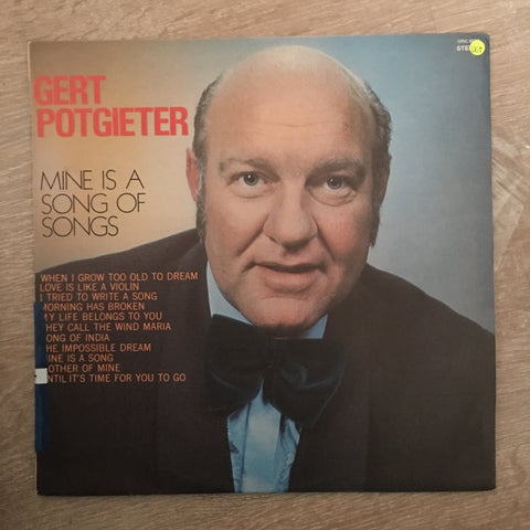 Gert Potgieter - Mine Is A Song Of Songs - Vinyl LP Record - Opened  - Very-Good+ Quality (VG+) - C-Plan Audio