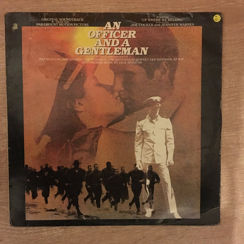 An Officer and a Gentleman - Soundtrack - Vinyl LP Record - Opened  - Very-Good Quality (VG)