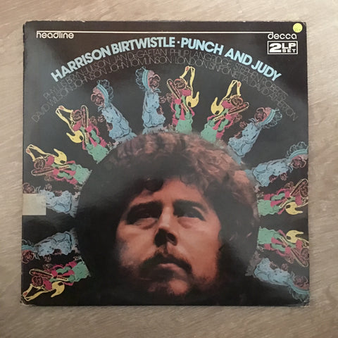 Harrison Birtwistle ‎– Punch and Judy - Vinyl LP Record - Opened  - Very-Good+ Quality (VG+)