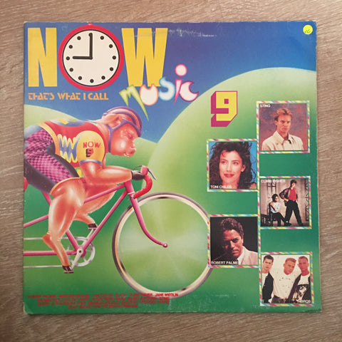 Various - Original Artists - Now That's What I Call Music 9 - Vinyl LP Record - Opened  - Very-Good Quality (VG) - C-Plan Audio