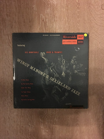 Wingy Manone's Dixieland Jazz ‎ - (Rare) Vinyl LP Record - Opened  - Very-Good Quality (VG)
