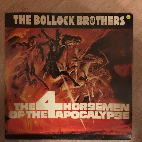 The Bollock Brothers ‎– The 4 Horsemen Of The Apocalypse - Vinyl LP Record - Opened  - Very-Good+ Quality (VG+)