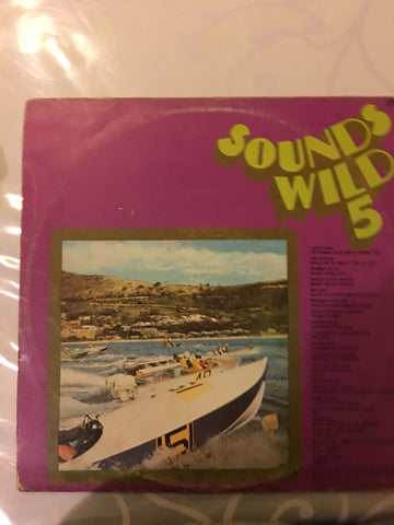 Various - Sounds Wild 5 - Vinyl LP - Opened  - Very-Good Quality (VG)