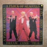 A Flock Of Seagulls ‎– Dream Come True - Vinyl LP Record - Opened  - Very-Good+ Quality (VG+) - C-Plan Audio
