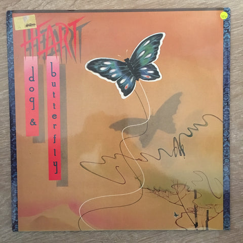 Heart - Dog & Butterfly - Vinyl LP - Opened  - Very-Good Quality+ (VG+) - C-Plan Audio