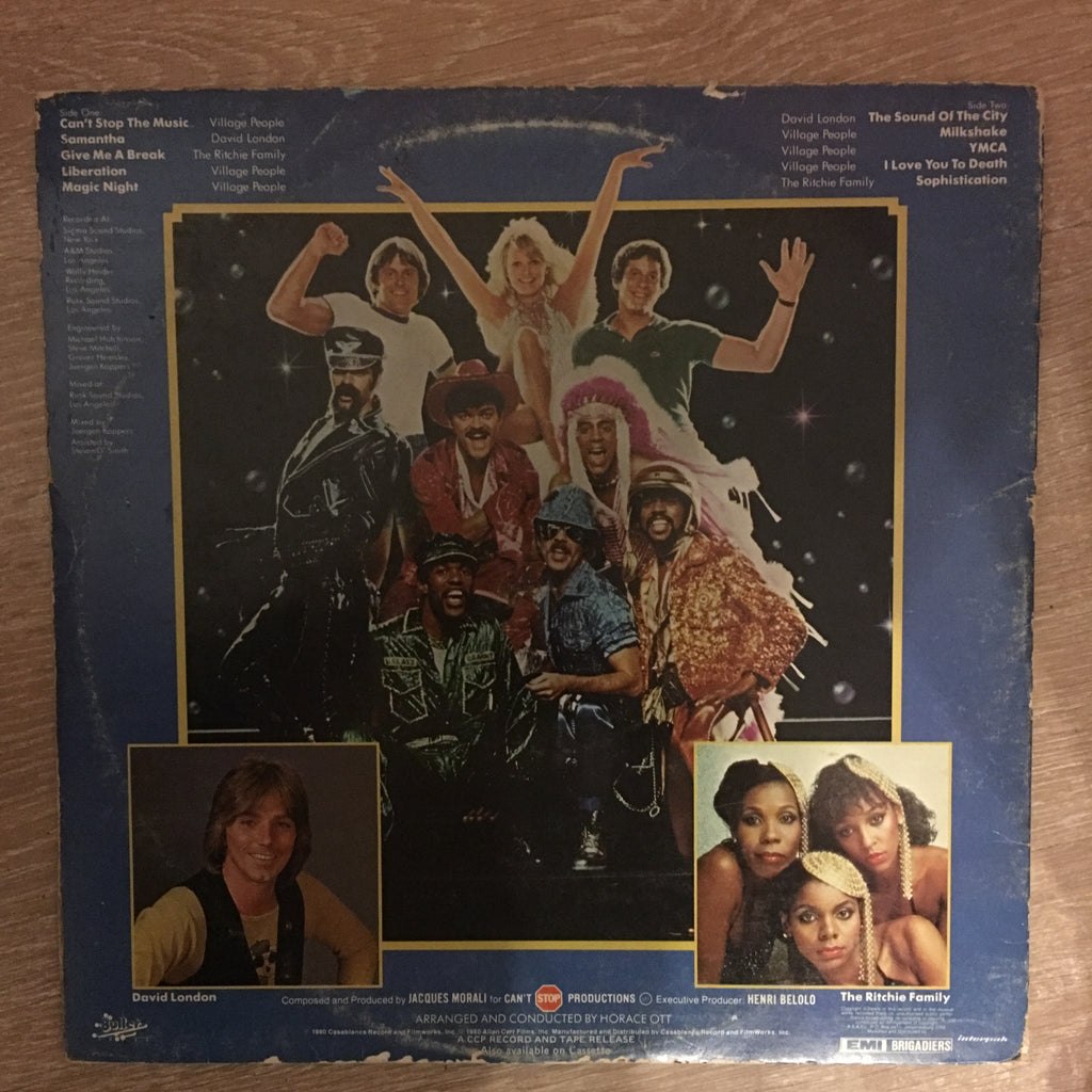 Village People - Can't Stop the Music - Vinyl LP - Opened - Very-Good+  Quality (VG+)
