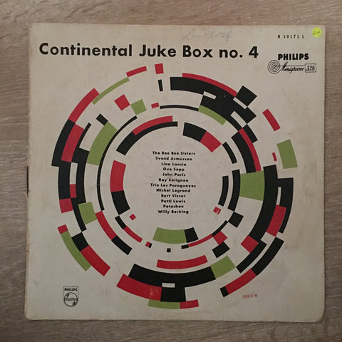Continental Juke Box no 4 - Vinyl LP Record - Opened  - Good+ Quality (G+) - C-Plan Audio
