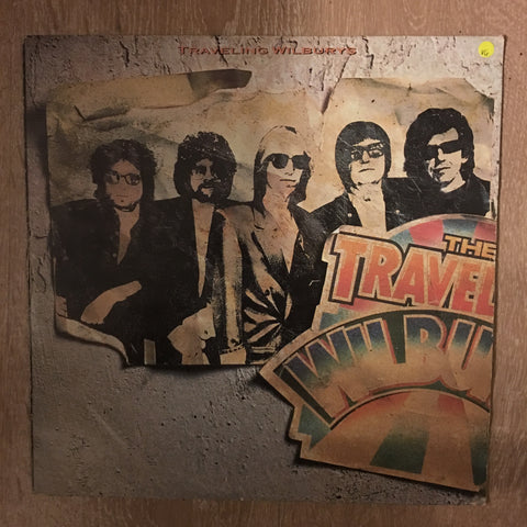 Traveling Wilburys ( Bob Dylan, George Harrison, Jeff Lynne, Roy Orbison, and Tom Petty) - Vol 1 (1st Album of 2 Albums made) - Vinyl LP - Opened Very-Good+ (VG+)