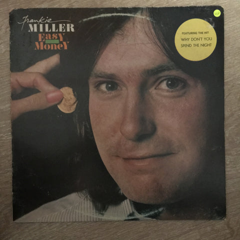 Frankie Miller ‎– Easy Money - Vinyl LP Record - Opened  - Very-Good+ Quality (VG+) - C-Plan Audio