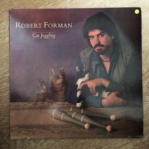 Robert Forman ‎– Cat Juggling - Vinyl LP Record - Opened  - Very-Good+ Quality (VG+) - C-Plan Audio