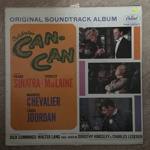 Cole Porter's Can Can - Vinyl LP Record - Opened  - Very-Good- Quality (VG-)