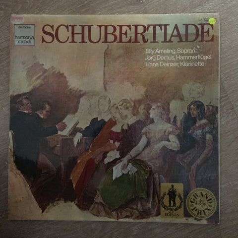 Franz Schubert / Elly Ameling, Jörg Demus, Hans Deinzer ‎– Schubertiade - Vinyl LP Record - Opened  - Very-Good+ Quality (VG+) - C-Plan Audio