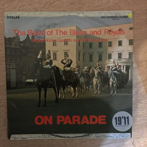 Mounted Band Of The Blues And Royals ‎– On Parade- Vinyl LP Record - Opened  - Very-Good+ Quality (VG+) - C-Plan Audio