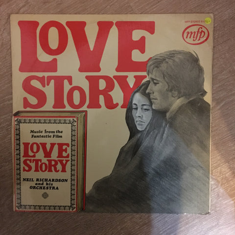 Neil Richardson And His Orchestra ‎– Love Story - Vinyl LP Record - Opened  - Very-Good+ Quality (VG+) - C-Plan Audio