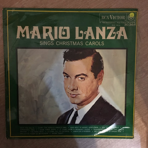 Mario Lanza Sings Christmas Carols - Vinyl LP Record - Opened  - Very-Good Quality (VG)